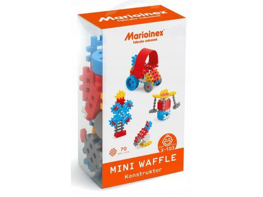 Marioinex klocki wafle mini 70 szt konstr chłopcy