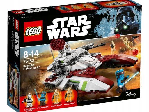 Lego 75182 czołg bojowy republiki star wars