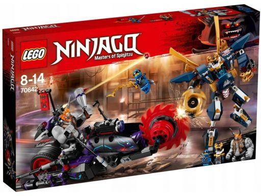 Lego 70642 killow vs samurai x bez figurek!!