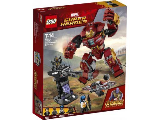 Lego 76104 walka w hulkbusterze bez figurek!