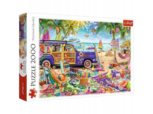 Puzzle 2000 tropikalne wakacje trefl