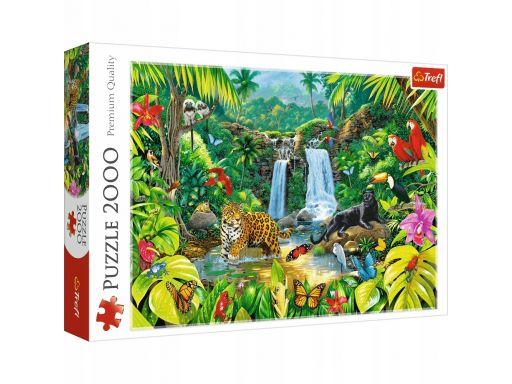 Puzzle 2000 las tropikalny trefl