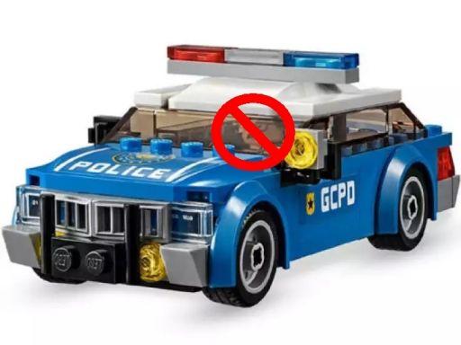 Lego batman radiowóz -policja pojazd z 76120
