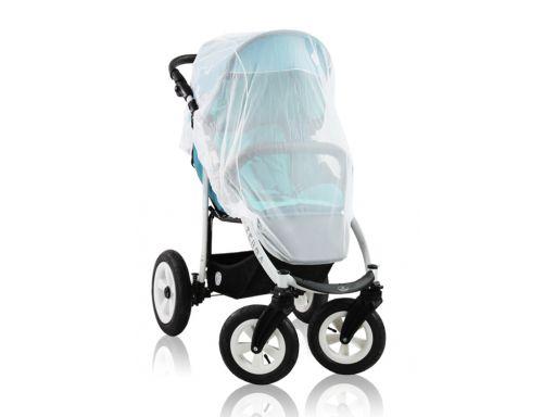 Duża moskitiera na wózek spacerowy polski produkt