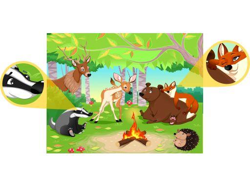 Fototapeta dla dzieci zwierzęta grubość 200g/m2