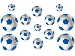 Naklejki na ścianę piłka nożna piłki + gratisy n