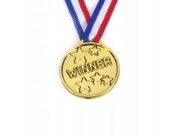 Medal plastikowy winner nagroda w konkursie