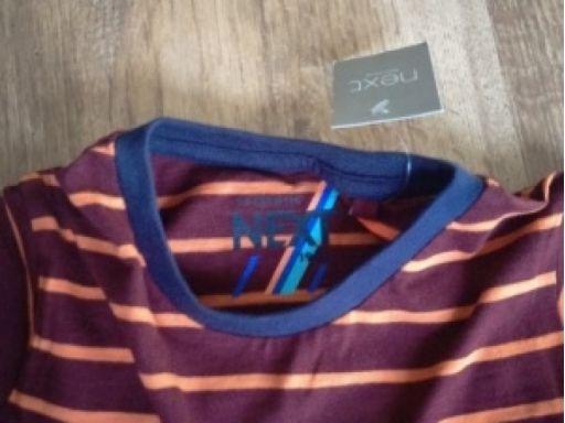 Next r.110cm 5lat koszulka nowa bawełna paski