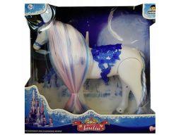 Chodzący koń księżniczki konik dla lalki dżwięk