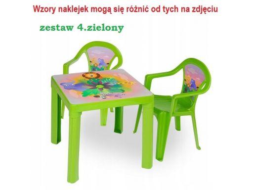 Stolik + 2 krzesła mebelki dla dzieci dom ogród