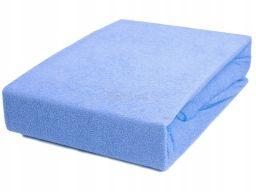 Prześcieradło na materac 140x70 - niebieskie