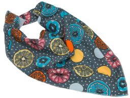 Bandamka rożek chusteczka kolory wzory wiosna lato