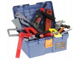 Skrzynka z narzędziami wiertarka narzędzia 31 el.