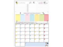 Planer kalendarz tablica magnetyczna duża 60x45cm