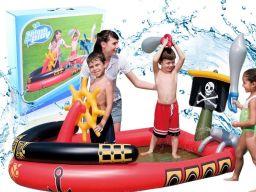 Basen dmuchany łódka z fontanną 190x140x96 | 53041