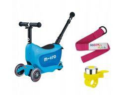 Micro mini2go deluxe+ plus hulajnoga jeździk grati