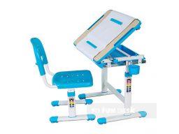 Biurko + krzesełko dla dziecka zestaw bambino blue