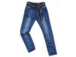 Spodnie jeans w gumkę grove r 10 - 134/140 cm