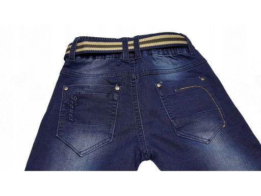 Spodnie jeans joggery vogues r 8 - 122/128 cm