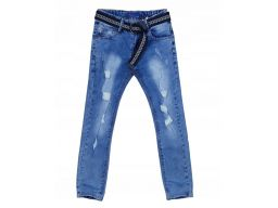Spodnie jeans slim fit r 14 - 158/164 cm rurki
