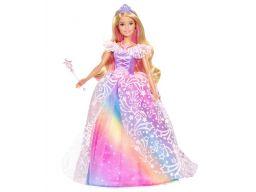 Lalka barbie magiczna księżniczka gfr44