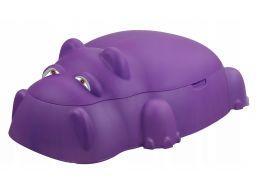Piaskownica basen hipopotam hipolit z przykryciem