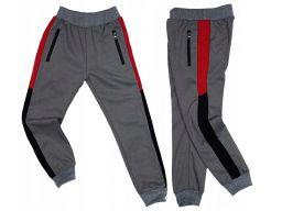 Spodnie dresowe energy r 16 - 158/164 cm red
