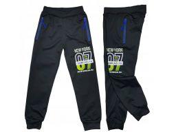 Spodnie dresowe 07 magic r 14 - 152/158 cm black