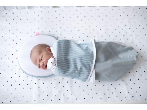 Otulaczek otulacz rożek antykolkowy motherhood