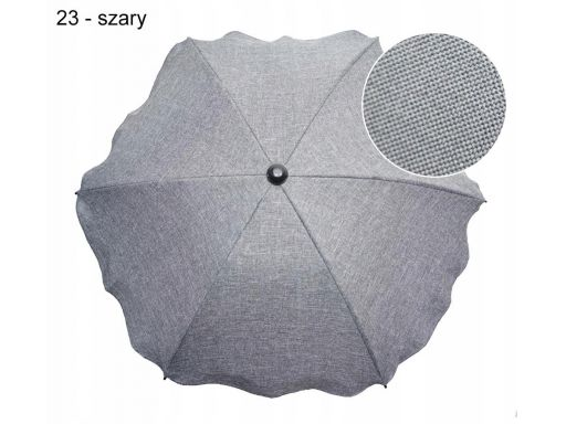 Uniwersalna parasolka melanż len z uchwytem