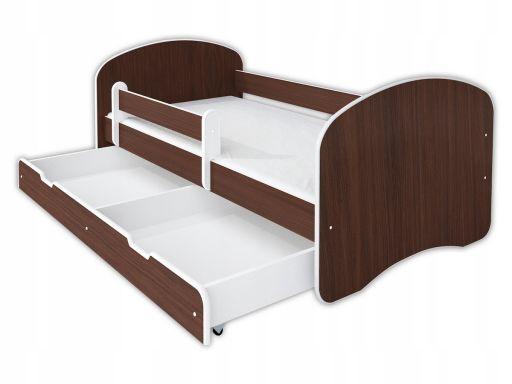 Łóżko happy iii 160x80 szuflada +materac +barierka
