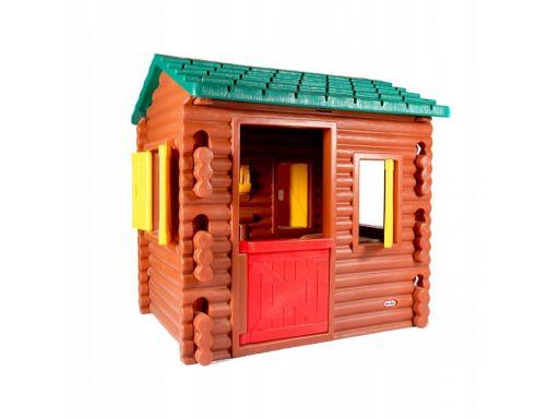 Little tikes ogrodowy domek chata z belek do ogrod