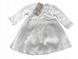 Komplet do chrztu sukienka luiza rozmiar 74