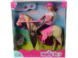 Simba steffi dżokejka lalka na koniu