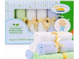 Chusteczki wielokrotnego użytku dla niemowląt 6szt
