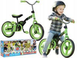 Little tikes rowerek 2w1 biegowy zielony na pedały