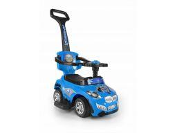 Jeździk pchacz milly mally pojazd happy niebieski
