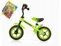 Milly mally dragon lekki rowerek biegowy +dzwonek