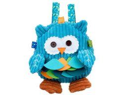 Dumel baby plecak plecaczek niebieska sowa 89604