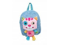 Dumel plecak przedszkolaka plecaczek + miś kotek