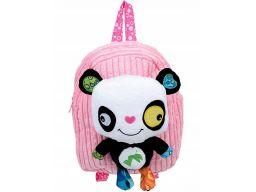 Dumel plecak przedszkolaka plecaczek + miś panda