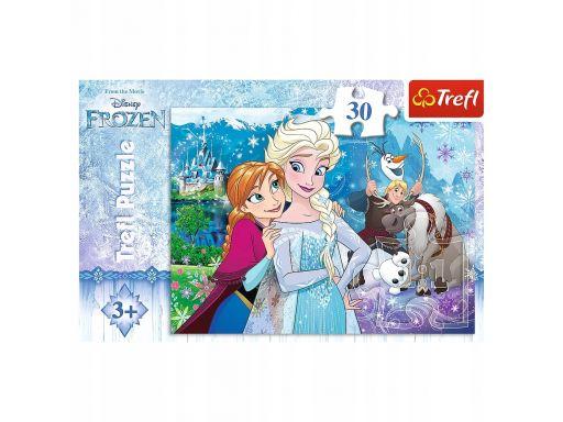 Trefl puzzle kraina lodu uwolnij magię frozen 30 e