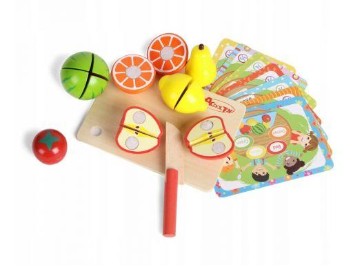 Smily play owocowa matematyka nauka krojenia