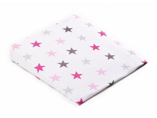 Poszewka na poduszkę klin 38x30 galaktyka różowa