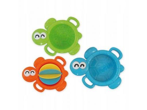 Zabawka do kąpieli akuku żółwie 3 szt