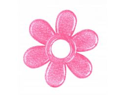 Babyono silikonowy gryzak chłodzący różowy