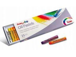 Pastele olejne 25 kolorów pentel olejowe kredki