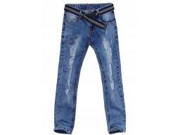 Spodnie jeans slim fit bis r 12 - 146/152 cm rurki