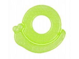 Babyono silikonowy gryzak chłodzący ślimak zielony