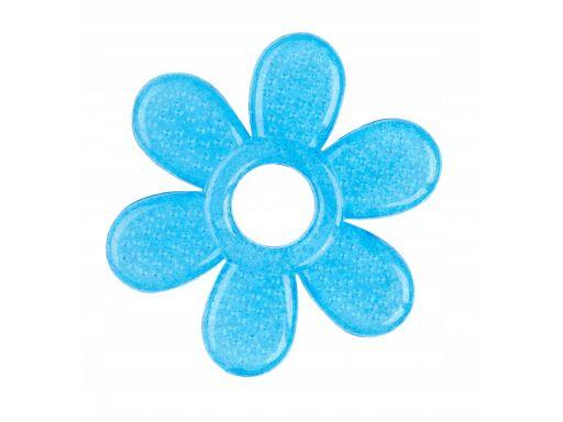 Babyono silikonowy gryzak chłodzący niebieski